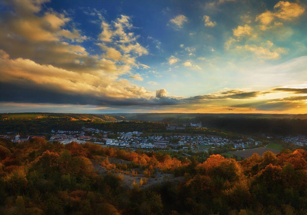 Herbstliches Eichstätt im Sonnenuntergang - Photodesign Altmühltal, Eichstätt