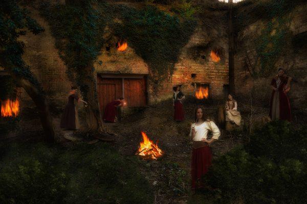 Mittelalterliche Abendstimmung, Lost Place
