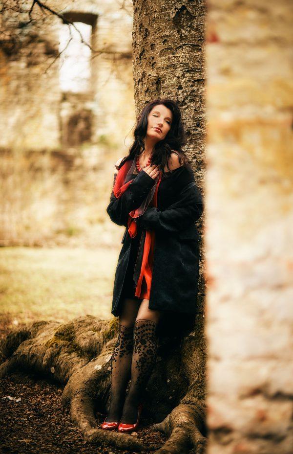 Fashion Shooting auf Ruine Bittenbrunn